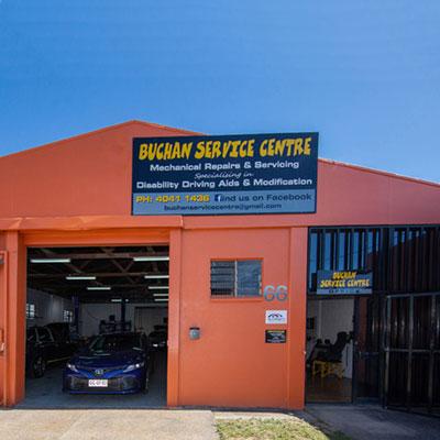 Buchan Service Centre Shopfront